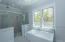 Master Bath with 3-way shower and body sprays