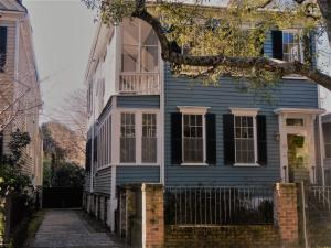 One of the original homes on Logan Street.Charleston Single built in 1865 on large lot with room for a pool and parking! South of Broad. Great floors plan for entertaining. One of original homes on the street