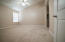 Vaulted Ceilings in Master Bedroom with brand new carpet.
