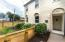 Custom fence gives this townhome a private yard to enjoy