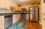 Spacious eat in Kitchen with Stainless Steel Appliances