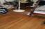 view of floor in master bedroom