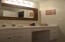 One of two upstairs guest bathrooms