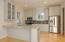Photo of a similar kitchen with similar custom finishes