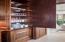 Mahogany paneled storage