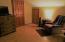 Living area in apartment.