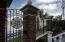 Gorgeous iron gates