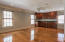 Carriage house apartment with full bath and closets.