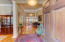 Welcoming large foyer