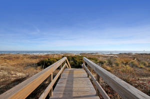 Walk out to the beach from your beach front villa!