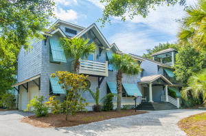 Lovely shake and bermuda shutters elevation