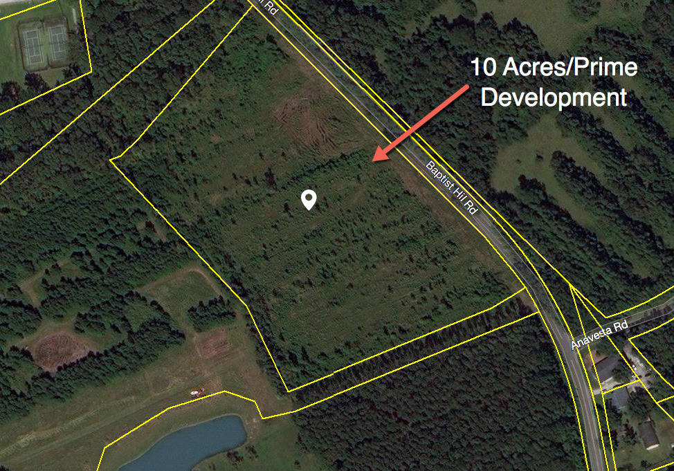 10 Acres Baptist Hill Road Hollywood, SC 29449