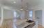 Wide plank white oak hardwood floors