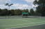 Plus 9 tennis courts which are lit.