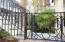 Beautiful ironwork on exterior gates and railings