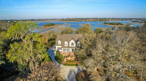 Amazing .9 acre property that backs to the Intracoastal Waterway/Stono River!