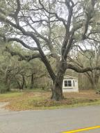 Large beautiful oak in front of property