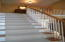 Loft upstairs separates Master from Guest Rooms