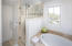 Master bath with a fresh and bright look