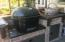 outdoor egg grill/smoker