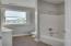 full bath in third bedroom