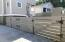 Gorgeous gate hardware - double gates for two car parking, and pedestrian gate for courtyard access.