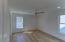 Second floor master bedroom with walk-in closet and en-suite bath