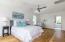 Spacious third floor master bedroom with huge walk-in closet and en-suite bath