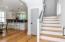 Hand-finished white oak floors