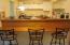 Breakfast bar overlooking kitchen