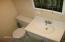 New sanitaryware installed in 2nd full bathroom
