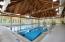 Olympic size heated exercise pool, HOA amenity
