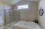 Luxurious jetted tub and stand alone shower