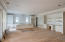 From Living Area looking toward Kitchen and Wet Bar to the right