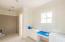 Bathroom for Junior Master with dual vanities and vanity