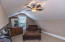 2nd upstairs bedroom closet lounge/bonus room