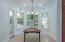 Eat in kitchen with door to screened porch