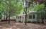 Large shaded back yard