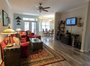 """Welcome home! Beautiful laminate """"wood"""" flooring throughout!"""