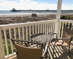 Porch with Pier View