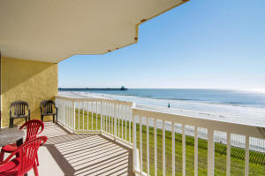 View & Oceanside Covered Balcony