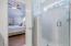2 Headed Oversized Frameless Glass Door Shower