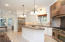 Great kitchen layout with island seating