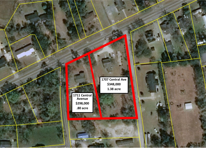 1707&1711 Central Avenue Summerville, SC 29483