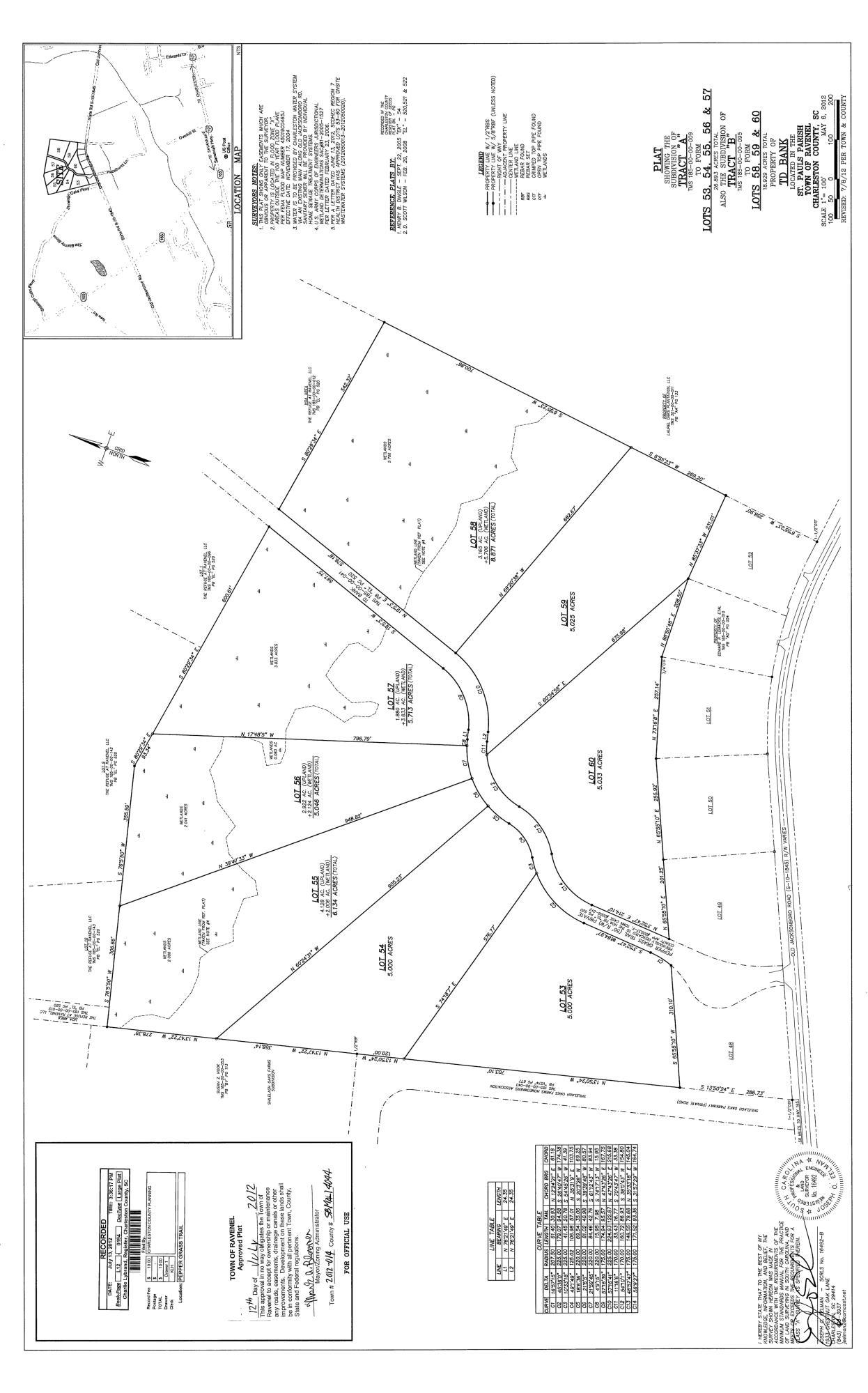 58 Pepper Grass Trail Ravenel, SC 29470