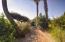 2916 Palm Blvd Private brick paved beach from lush landscaped backyard.