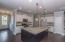 View of large, open kitchen.