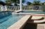 Love how you can enjoy the sunny side of this pool or bask in the breezy shade.