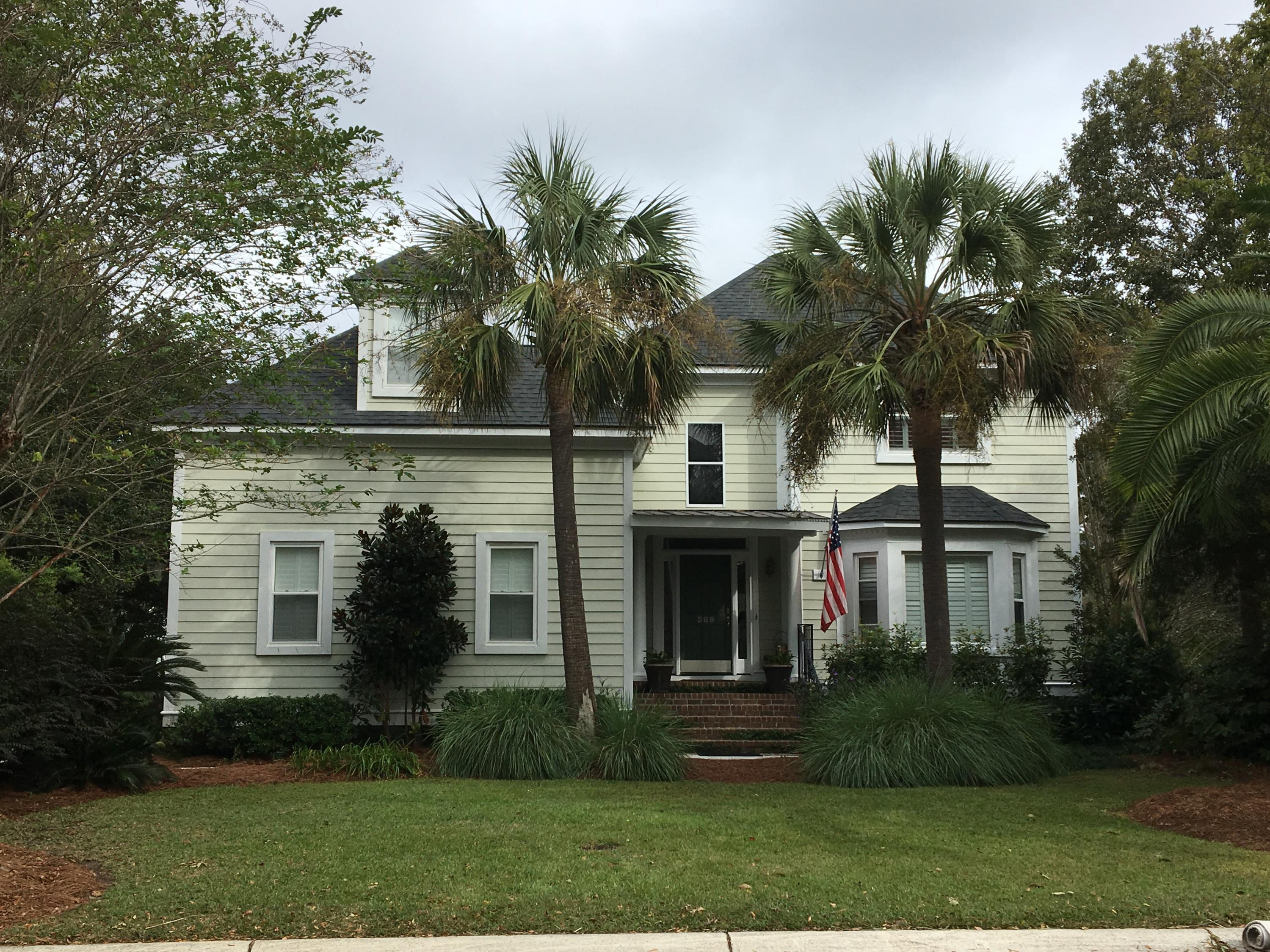 589 Chimney Bluff Drive Mount Pleasant, Sc 29464