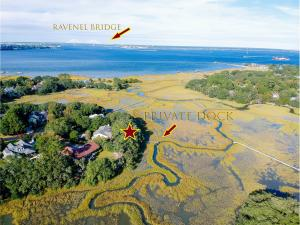 Private, waterfront, peninsula lot. Close to downtown and easy access to Charleston harbor.